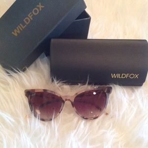 NEW! WILDFOX Lafemme cateye sunnies